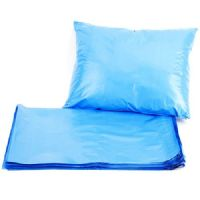 "Blue Metallic Strong Plastic Postage Poly Mailing Bags Large 17x22"" (430x560mm)"